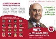 Volantino versione PDF - Elezioni a Siena