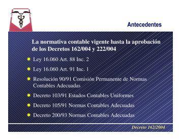 Decreto 162/2004