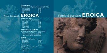 Eroica Booklet.IND - Rick Sowash