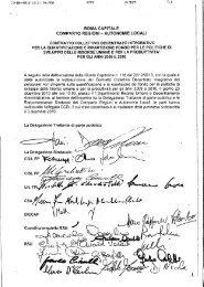 CCDI personale non dirigente 2009/2010 - Comune di Roma