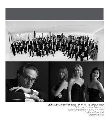 VIENNA SYMPHONY ORCHESTRA WITH THE EROICA TRIO Fabio ...
