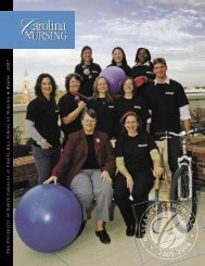 Research Chronicle, 2007 - School of Nursing - University of North ...