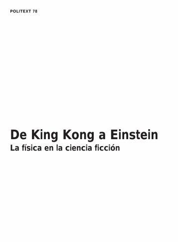 De King Kong a Einstein