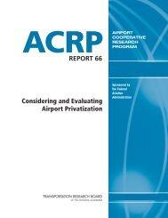 ACRP Report 66 - Transportation Research Board