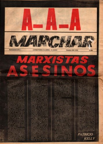 Revista Marchar - 1974 - N° 2 - Ruinas Digitales