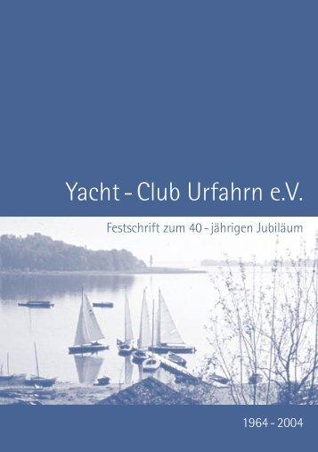Festschrift - Yacht Club Urfahrn eV