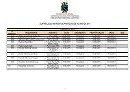 controle de entrada de protocolos ano 2011 ... - Marinha do Brasil