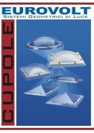 scarica il catalogo cupole.pdf - Eurovolt
