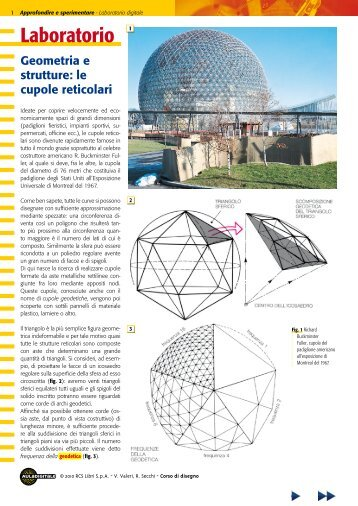 le cupole reticolari - Aula Digitale