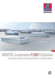 Catalogo Lucernario a cupola F100 - Greenlux