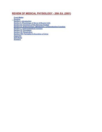 Ganong - Review of Medical Phys.pdf - E-Lib FK UWKS