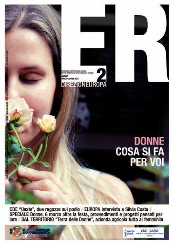 Europa Rurale anno 7 n. 2 marzo/aprile 2011 - Agricoltura ...