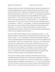 Michael D. Elliot, March, 2013 Wigorniensis O (Corpus 190) Editorial ...