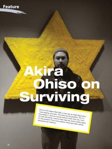Akira Ohiso on Surviving - Asian Jewish Life