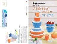 A little bit of - Tupperware