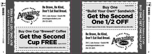 Get the Second One 1/2 OFF Get the Second Cup FREE - Vista Fleet