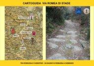 CARTOGUIDA VIA ROMEA DI STADE - Comune di Chiusi della Verna