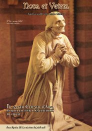 Nova et Vetera N° 14 - Fraternità Sacerdotale di San Pio X