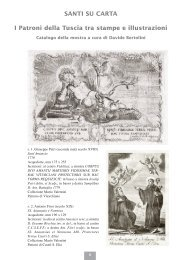 SANTI SU CARTA I Patroni della Tuscia tra stampe e illustrazioni