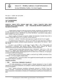 Lettera invito Gara Prato Città curata 2009 ... - Comune di Prato
