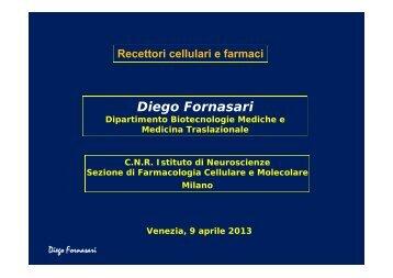 Diego Fornasari - Istituto Veneto di Scienze, Lettere ed Arti