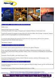 31/10/2012 12:20:52 1 Día 1º MANAOS - AMAZON ... - Viajes a Brasil