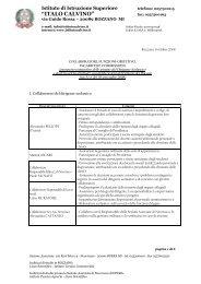 11/10/2008 - Collaboratori del Dirigente Scolastico ... - Istituto Calvino