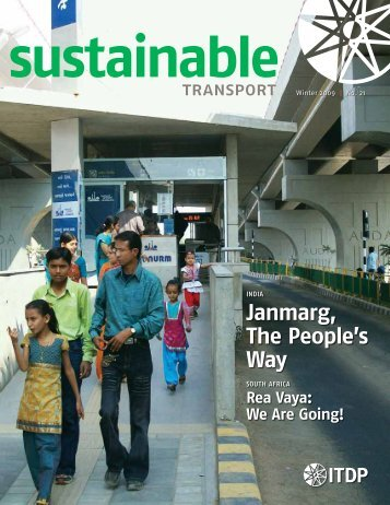 Janmarg, The People's Way - ITDP | Institute for Transportation and ...