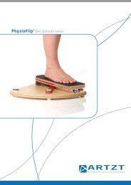 PhysioFlip® Der Gelenktrainer - Pedalo