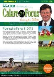 Calare in Focus - Autumn 2012 - John Cobb