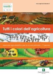 1° biennio Tutti i colori dell'agricoltura - Regione Lombardia