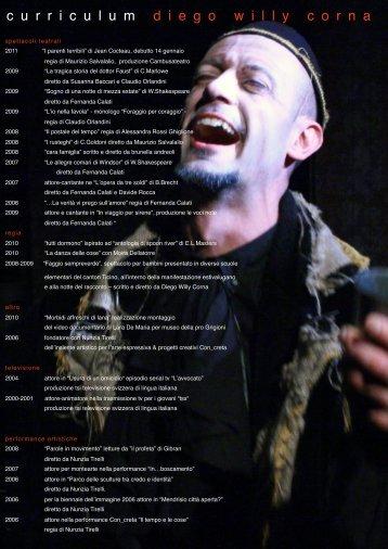 curriculum vitae - CambusaTeatro