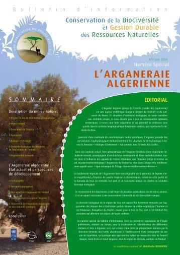 L'ARGANERAIE ALGERIENNE - PNUD
