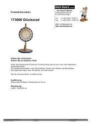 173060 Glücksrad - Pedalo