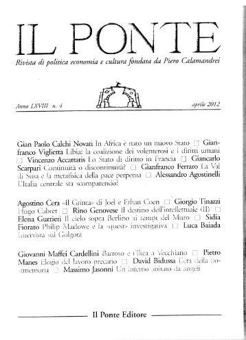 Gian Paolo Calchi Novati in Aîiriea e nato un nuovo Stato [i Gian ...