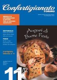 Scarica il mensile in formato pdf - Confartigianato Torino