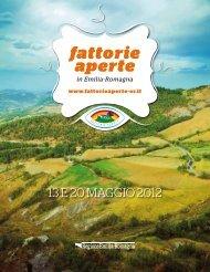 Guida alla Fattorie Aperte dell'Emilia-Romagna 13-20 maggio 2012