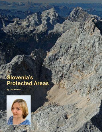 Slovenia's Protected Areas Slovenia's Protected ... - Quark Magazine