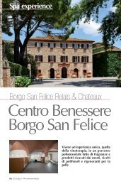 Borgo San Felice Relais & Chateaux - Master Meeting