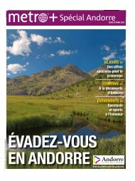 Spécial Andorre - Metro