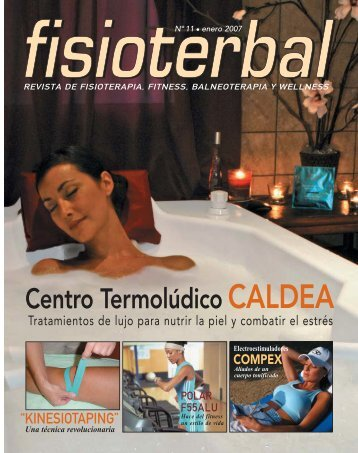 revista de fisioterapia, fitness, balneoterapia y wellness - LookVision