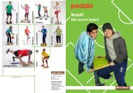 productflyer MuKki - the soccer board - Pedalo