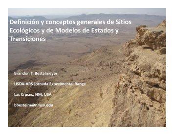 Definición y conceptos generales de Sitios Ecológicos y de Modelos ...