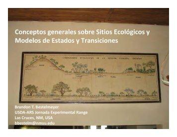 Conceptos generales sobre Sitios Ecológicos y ... - The Jornada
