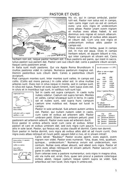 1174fe790ab1 PASTOR ET OVES - PAU Latín y Griego