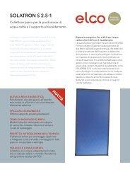 SOLATRON S 2.5-1 – Collettore piano per la produzione di acqua ...