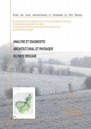Analyse et diagnostic architectural et paysager du Pays Drouais