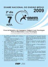 Enem 2009 - Inep