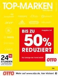 OTTO Top-Marken bis zu 50% reduziert