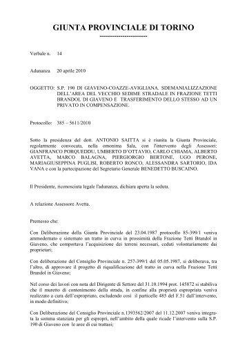 385-5611/2010 - Provincia di Torino